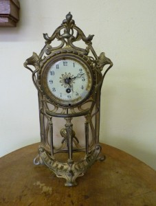 Původní stav hodin