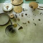 Průběh opravy a renovace stroje